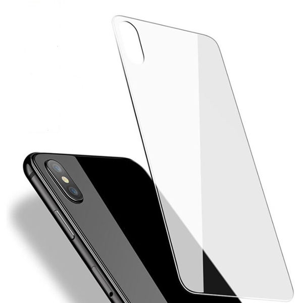 for iPhone X 9H Hardness 2.5D Anti-scratch Tempered Glass Back screen protector