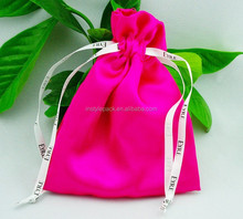 Full color satin bag for gifts