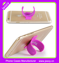 JESOY 3m Adhesive Stick Cell Mobile Silicone Phone Holder Stand With Customized Logo