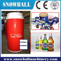 CE approved ice cream gelato barrel freezer for sale
