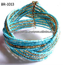 Beaded Bangles Jewelry Fashion costume Made in India Handmade Handicrafts artificial fashion traditional south indian jewellery