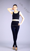 autumn/winter twist leggings Thick knit velvet pants women