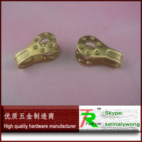 High quality customized brass metal shoes lace hook
