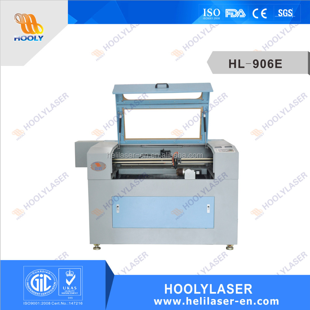 Hot selling pillow / filled floating / crafts foam laser cutter/cutting machine