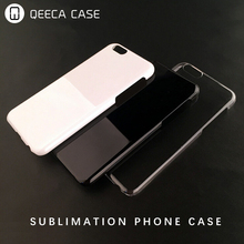 Phone case manufacture print soft TPU / hard PC matte clear back cover case for iphone 7 sublimation blank