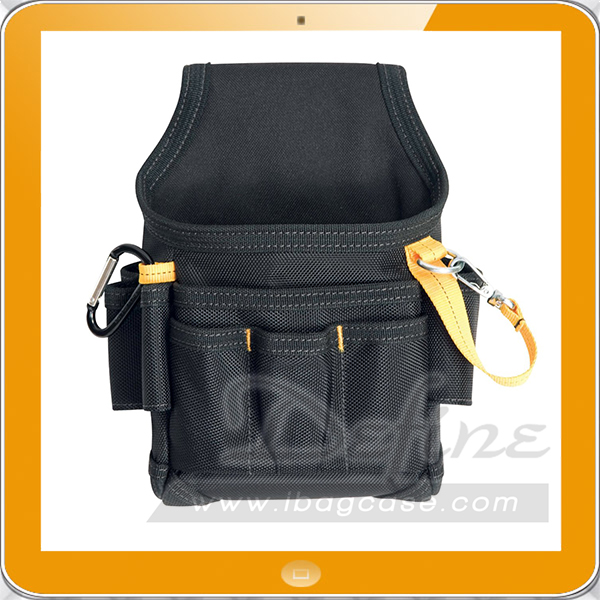 Durable small maintenance electrician tool pouch