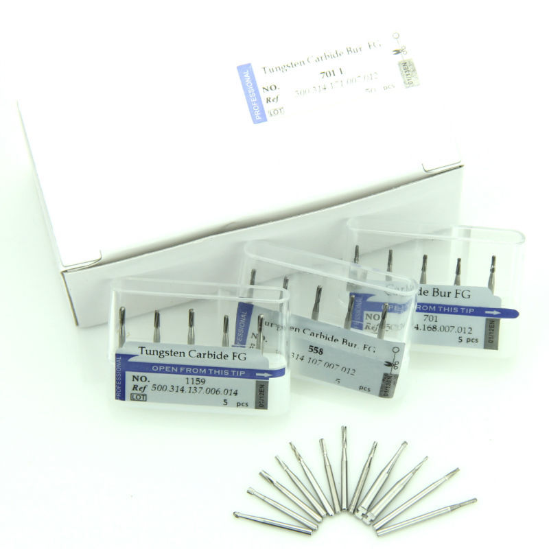 good quality dental burs supply tungsten carbide rotary bur China manufacturer