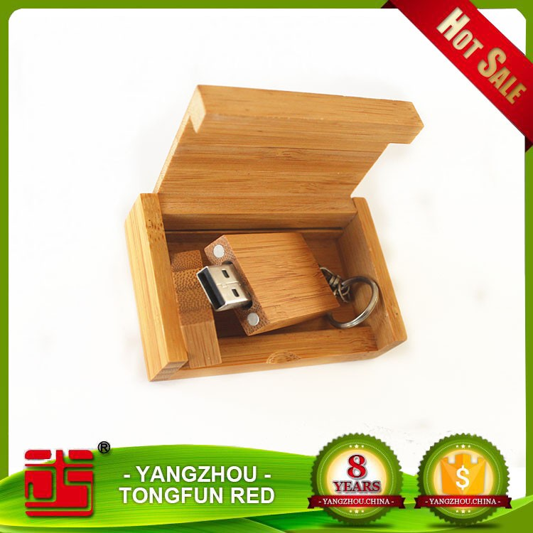 High quality present engraving logo bulk wood usb flash drive