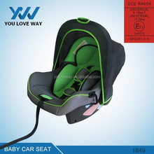 Alibaba china supplier Aluminum softtextile baby car seat