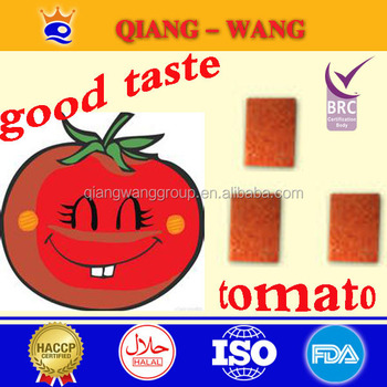 Hot 2017 Tomato Soup Cube for African Market
