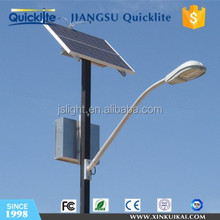 3 Years Warranty Lithium Battery LED solar street light with pole