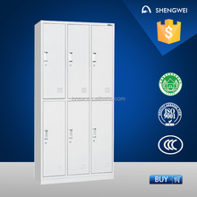 newest style fair price furniture steel bed room wardrobe