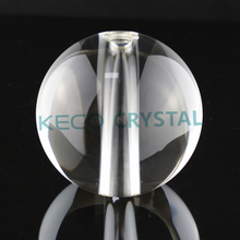 Good quality glass balls with holes, keco crystal is a manufacturer of all kind of crystal products for lighting in China