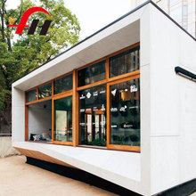 Chinese Factory expandable container house metal prefab shop