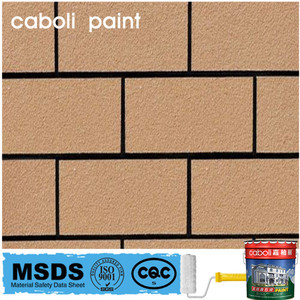 Caboli natural powder colourful spray effect stone coating