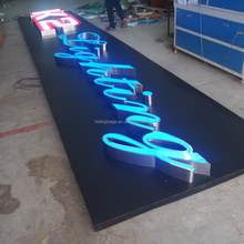 High Quality Food Grade Die Cut Handle Outdoor Led Sign and Frontlit Channel Letters wholesale