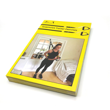 Paper print illustrated instruction leaflet a3 a4 a5 a6 softcover brochure/catalog printing