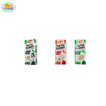 Factory supply attractive price milk food fruit vegetable packaging paper box