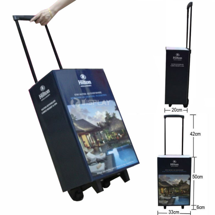 exhibition carton cardboard trolley bag ,design folding shopping cardboard trolley bag,suitcase for fair exhibition