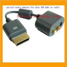 Hot !!!!!! optical audio adapter for xbox 360 hdmi av cable