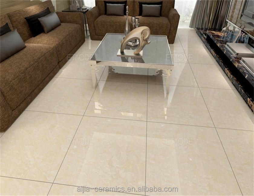 ivory color double layer tiles , polished porcelain tiles 600x600