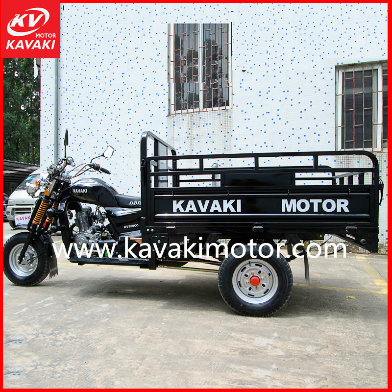 3 Wheel Motorcycle 250CC Zongshen Lifan Loncin Engine Water Cooling Air Cooling For Option