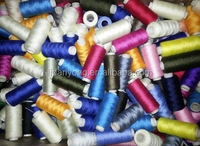 customized factory wholesale 100% polyester sewing thread