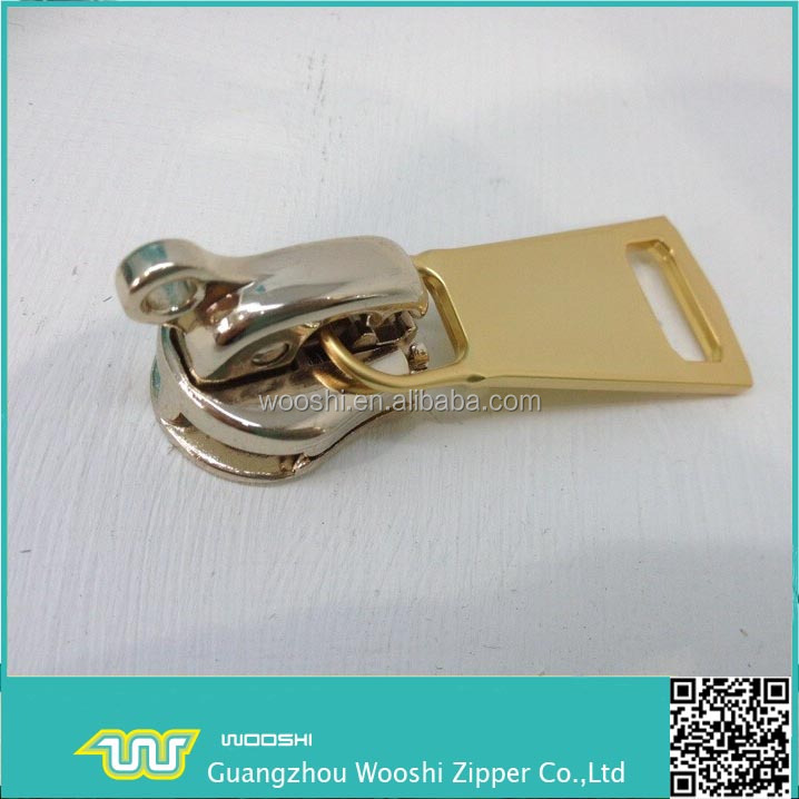 key locking zipper sliders