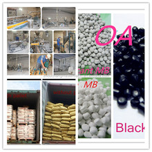 Color Black/ White /Red /Blue Available Plastics Masterbatch Manufacture