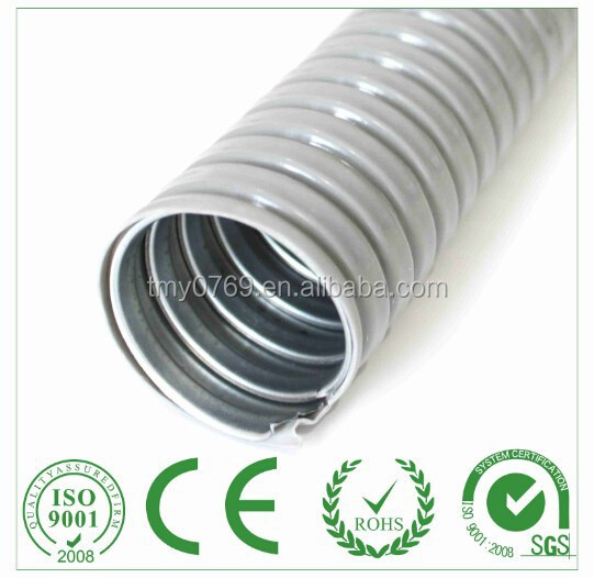 Flexible metal electrical wire tube