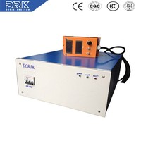 Portable high frequency ac to dc adjustable electroplating power supply