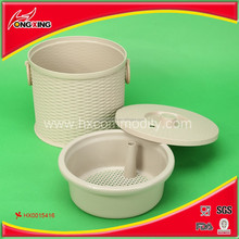 China productioncheap plastic tea-leaf and water buckets