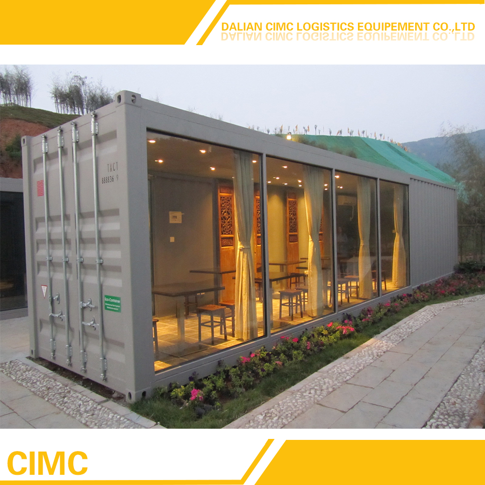 Made In China Container House With Wheels