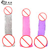 Harmless multicolor penis adult sex toys silicone Dildo for women