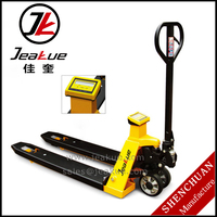 Factory Price Material Handling Tools 2 Ton Hand Pallet Jack with Weigh Scale