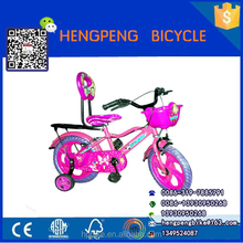 cheap price Steel frame kid bike child small bike children bicycle with two backrest seat wholesale