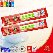 cheap price delicious fresh Strawberry Jam made in china18g packing