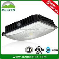 70W motion sensor led canopy light for low ceiling parking garages