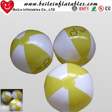 wholesale PVC free inflatable beach ball with logo printing