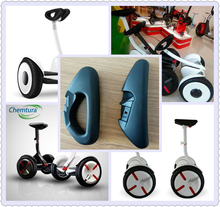 Custom PU armrest , provide the complete system of PU solution for NINEBOT balance scooter