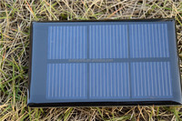 2015 Epoxy Resin Encapsulated flexible solar panel module with high efficiency solar cell
