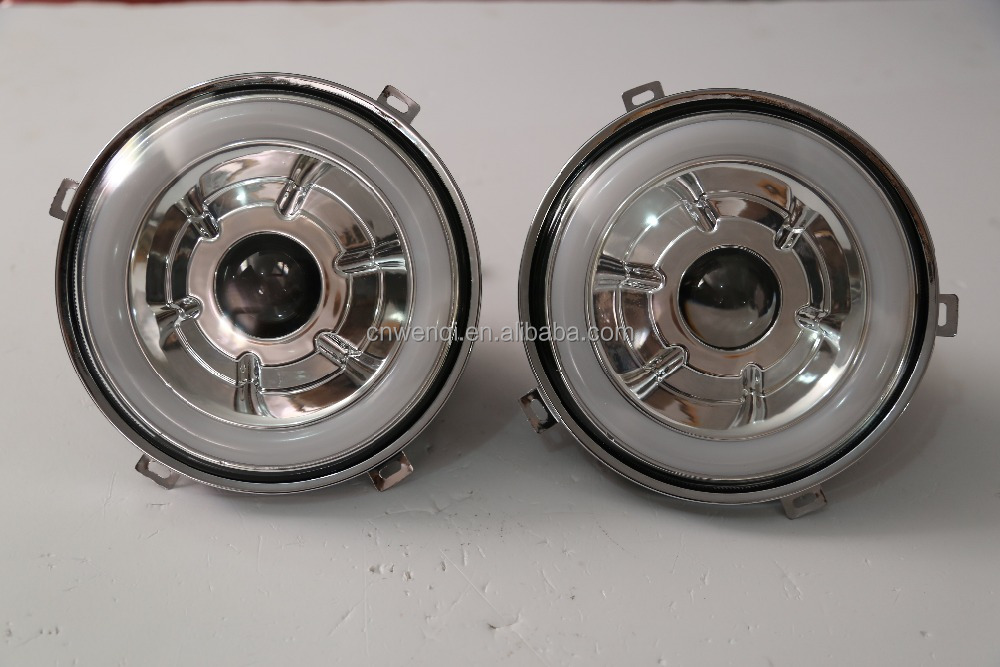 "7"" inch round chrome CCFL headlight for Jeep Wrangler JK led head light"