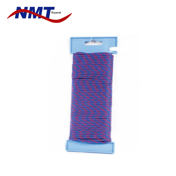 high strength environmental protection flat string waxed rope