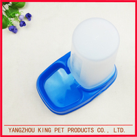 Food grade customized color dog food bowl pet feeder automatic
