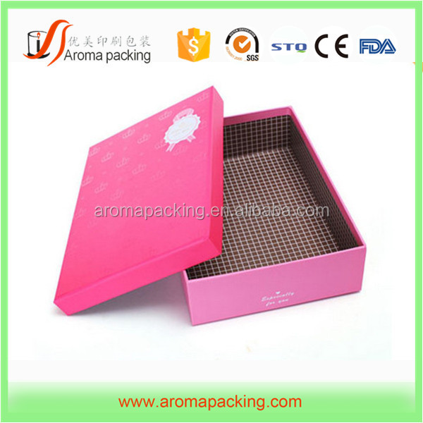 Drawer style sleeve cover slide paper cosmetic fragrance makeup box