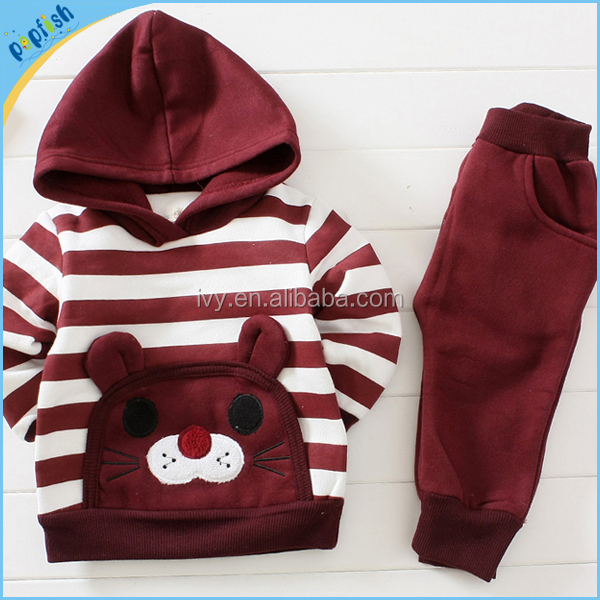New Arrivals Fashion Interloop Baby Boys Girls T-Shirt + Pants Children Clothing