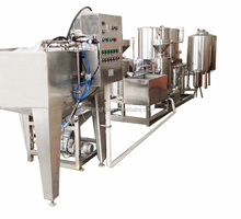 automatic industrial soybean milk making machine/soya milk plant for factory selling
