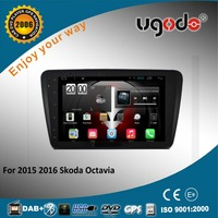 10.1 inch HD touch screen for 2015 Skoda Octavia android car auto radio gps navigator