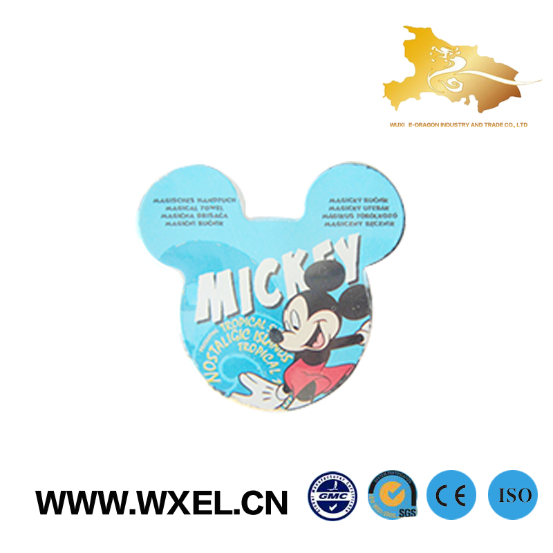 Promotional tablet super magic cheap compressed towel