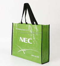 Promotional used beverage bag recycled pp woven reusable shopping bag